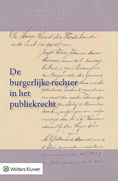 De burgerlijke rechter in het publiekrecht Als jurist kent u de leer van het objectum litits. Deze is op 31 december 1915 definitief door de Hoge Raad omarmd in het standaardarrest Noordwijkerhout-Guldemond. In deze fraaie feestbundel waarmee honderd jaar publiekrechtelijke rechtsvorming door de burgerlijke rechter wordt gevierd, leest u indrukwekkende en kleurrijke bijdragen van vooraanstaande auteurs.