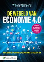 De wereld van economie 4.0 Terwijl u dit leest is onze economische wereld ingrijpend aan het veranderen. Digitalisering, nieuwe technologieën en ingrijpende klimaatmaatregelen. Ze geven elk hun draai aan onze nieuwe economische realiteit. Maar waar komen we uit? In De Wereld van Economie 4.0. schetst Willem Vermeend een haarscherp beeld.