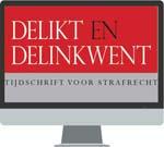 """Delikt en Delinkwent <p>De uitgave reikt u informatie aan over het strafrecht en de strafrechtstoepassing, die deels documentair en deels beschouwend van aard is. Deze online versie wijst u snel de weg naar de informatie die u zoekt.<br /><br />Delikt &amp; Delinkwent online maakt deel uit van de <a href=""""http://www.wolterskluwer.nl/navigator/collecties/advocatuur/strafrecht"""">Collectie Strafrecht Compleet</a>.</p>"""