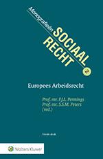 Europees Arbeidsrecht <span>Deze titel verkent het gehele terrein van het Europees arbeidsrecht, van sociale grondrechten tot juridische vraagstukken die spelen bij het grensoverschrijdende werknemers- en dienstenverkeer binnen de EU. De lezer krijgt inzicht in de uiteenlopende kwesties binnen het Europees arbeidsrecht, evenals de achtergronden en oorzaken van potentiële spanningen.</span>