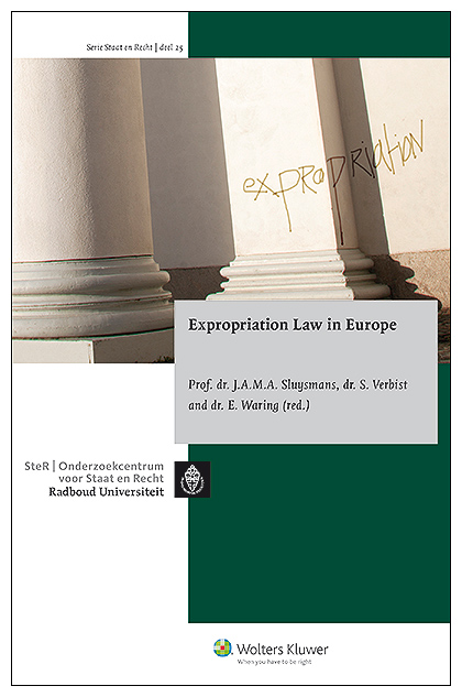 Expropriation Law in Europe In this publication, the editors present the first comparative overview of expropriation law in Europe covering 15 different jurisdictions. For many of the countries represented, this publication is the first English-language description of their national expropriation law. This survey provides a lot of information for all practitioners in the field of expropriation of land.