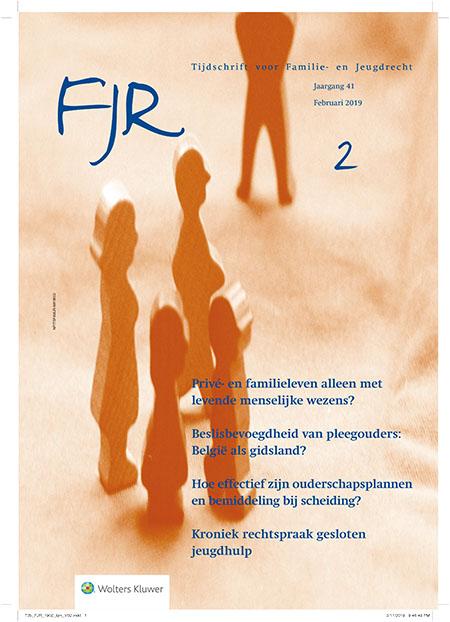 Tijdschrift voor Familie- en Jeugdrecht <p>Het Tijdschrift voor Familie- en Jeugdrecht (FJR) behandelt vooral rechtsvragen die in de praktijk spelen. Zowel vragen die opkomen bij de hulpverleners als bij advocaten, notarissen en rechters.</p>