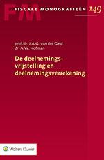 De deelnemingsvrijstelling en deelnemingsverrekening De deelnemingsvrijstelling maakt concernvorming mogelijk en zorgt ervoor dat Nederlandse bedrijven in het buitenland op gelijkwaardige voet kunnen concurreren met andere marktpartijen. Ook de deelnemingsverrekening, waarmee kapitaalvlucht wordt bestreden, speelt daarbij een belangrijke rol. Deze uitgave is een samenvoeging en bewerking van de Fiscale Monografieën over de deelnemingsvrijstelling en de deelnemingsverrekening.