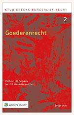 Goederenrecht Deze uitgave is bedoeld voor iedereen - student, professional of wetenschapper - die meer inzicht wil krijgen in het Nederlandse goederenrecht. Alle relevante en recente regelgeving, rechtspraak en literatuur zijn in deze uitgave verwerkt, zodat u een compleet en actueel beeld krijgt.