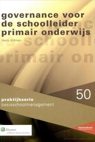 Governance voor de schoolleider primair onderwijs In deze uitgave onderzoekt de auteur de drie klassieke bestuursmodellen en gaat uitgebreid in op (de overgang naar) het raad van toezichtmodel, omdat dit model sterk in opkomst is.