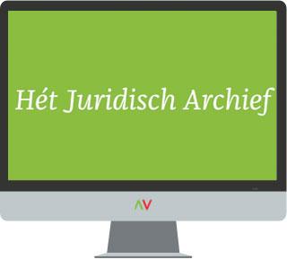 Het Juridisch Archief Hét Juridisch Archief is een online verzameling van de oude drukken van 425 belangrijke juridische boeken én het archief van 25 vakbladen. U hoeft hiermee zelf geen uitgaven te bewaren. Met deze oplossing vindt u snel wat u zoekt - eenvoudig online.