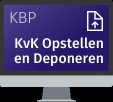 """KvK Opstellen en Deponeren Met de online module <strong>KvK Opstellen en Deponeren</strong> stelt u digitale jaarrekeningen van vennootschappen op en deponeert u ze in SBR bij de KvK. Deze nieuwe module kunt u het beste in combinatie met Avanzer (voorheen KBP) Aangifte gebruiken, maar u kunt de online module ook los gebruiken.<br /><br /> <p class=""""paragraph"""" style=""""margin: 0cm; vertical-align: baseline;""""><em><span class=""""normaltextrun"""">Standaard met 25 deponeringen</span><span class=""""eop"""">. Heeft u extra deponeringen nodig? In de winkelmand kunt per 10 extra deponeringen bestellen.</span></em></p>"""