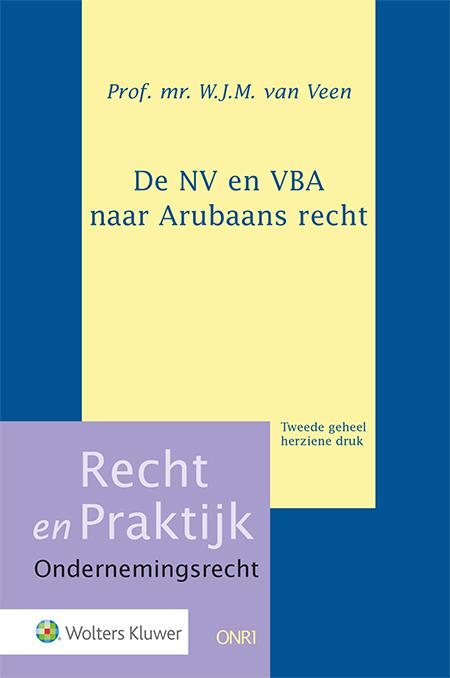 De NV en VBA naar Arubaans recht <p>Hoe is het huidige Boek 2 BW van Aruba opgebouwd? Hoe staat dit wetboek in verhouding tot het Curaçaose Boek 2 BW en het Nederlandse recht? En welke lijnen uit de Landsverordening VBA (2009)zijn doorgezet in het wetboek? Deze titel omvat een volledig geactualiseerde, kernachtige bespreking van de ontwikkelingen en de structuur van het Arubaanse rechtspersonenrecht.</p>