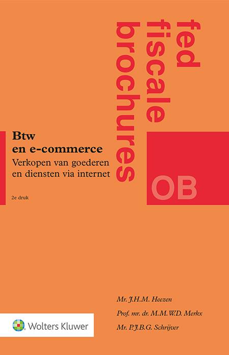 BTW en e-commerce <p>Steeds meer ondernemers verkopen hun producten online buiten Nederland en krijgen daarbij te maken met complexere btw-regelgeving. Hoe verlopen btw-verplichtingen in het buitenland? Deze titel gaat uitgebreid in op de internationale e-commerceregels, waaronder de nieuwe e-commerceregels die vanaf 1 juli 2021 gelden.</p>