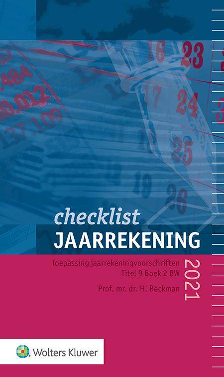 Checklist Jaarrekening <p>Met deze checklist beschikt u over actuele stand van zaken omtrent financiële verslaggeving in 2021. De titel beperkt zich tot de hoofdlijnen; uitzonderlijke situaties en bijzondere regelingen worden grotendeels buiten beschouwing gelaten. De checklist biedt houvast bij het toetsen of uw jaarrekening voldoet aan de voorschriften van Titel 9 Boek 2 BW.</p>