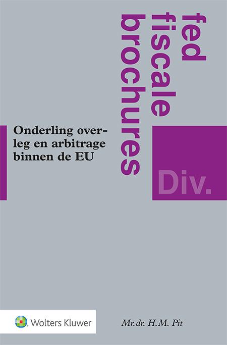 Onderling overleg en arbitrage binnen de EU <p>Hoe voorkom je dubbele belastingheffing en hoe maak je deze ongedaan? Deze brochure geeft uitgebreid uitleg over de regels hiervoor binnen de EU: het Arbitrageverdrag, de Richtlijn en de Wet fiscale arbitrage. De bijgevoegde handleiding geeft houvast in situaties waarin u te maken krijgt met dubbele belastingheffing binnen de EU.</p>