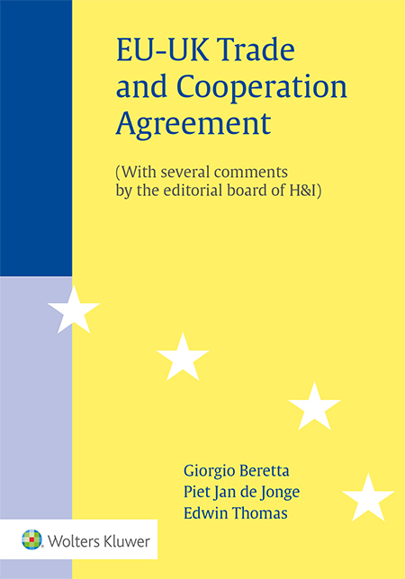 EU-UK Trade and Cooperation Agreement <p>How does the EU-UK Trade and Cooperation Agreement affect value added tax (VAT) matters? This publication offers practical guidance by painting a clear picture of Brexit's impact on the existing VAT and tax framework at the EU level and beyond.</p>