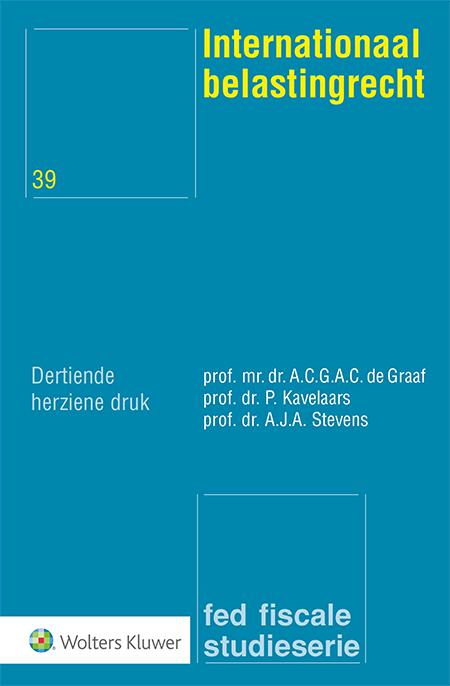Internationaal belastingrecht <p>Met het OESO-modelverdrag als leidraad, ontleedt deze uitgave de problematiek van de voorkoming van internationaal dubbele belasting. De lezer krijgt inzicht in het complexe samenspel van toewijzingsregels zoals die gelden in het Nederlandse fiscale recht.</p>