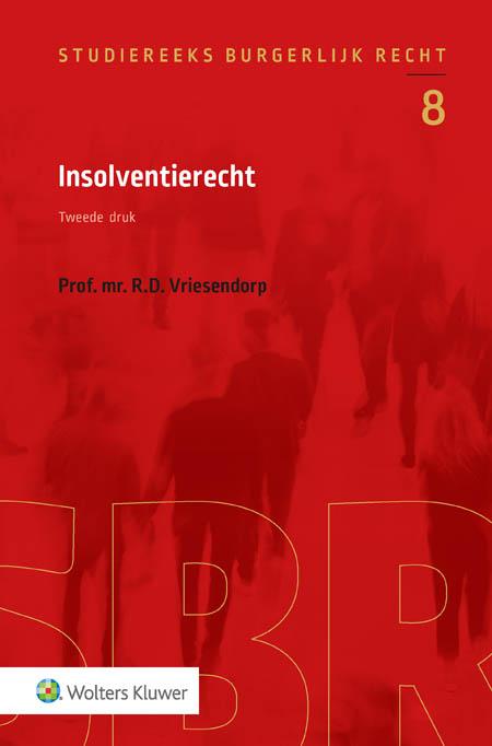 Insolventierecht Dit nieuwe deel in de Studiereeks Burgerlijk Recht  is bedoeld als studieboek voor (aanstaande) juristen die geïnteresseerd zijn in het insolventierecht en voor degenen die zich vertrouwd willen maken met het systeem van het insolventierecht.
