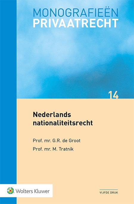 Nederlands nationaliteitsrecht <p>Deze inleiding tot het Nederlandse nationaliteitsrecht geldt als de enige monografie over dit rechtsgebied. Naast een kennismaking met het geldende Nederlandse nationaliteitsrecht, vind je een uitvoerige beschrijving van de hierbij relevante internationale verdragen.</p>