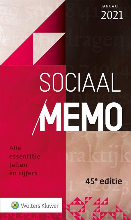 Sociaal Memo <p>Niets is zo veranderlijk als de wet- en regelgeving over de sociale zekerheid van Nederland. En met de uitbraak van het coronavirus is het vangnet van de sociale zekerheid ook nog eens sterk uitgebreid. De januari 2021-editie van dit memo bevat alle belangrijke en actuele gegevens omtrent sociale zekerheid.</p>