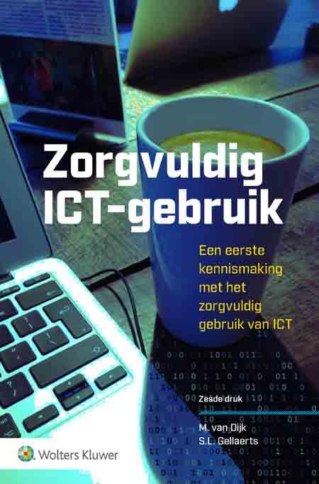 Zorgvuldig ICT-gebruik <span>Deze titel geeft op helderde wijze uitleg over dagelijks ICT gebruik en de bijbehorende risico's voor (toekomstige) professionals. Deze 6</span><sup>e</sup><span><span></span>druk geeft aan de hand van sociale en juridische normen aan wat zorgvuldig ICT gebruik precies inhoudt en welke grenzen er kunnen worden getrokken binnen thema's als cybersecurity, awareness en privacy.</span>