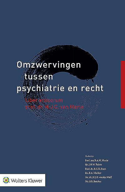 Omzwervingen tussen psychiatrie en recht Hjalmar van Marle is niet alleen een begrip in de forensische psychiatrie, hij is ook welbekend in het strafrecht. In zijn unieke carrière heeft hij zich nadrukkelijk bewogen op het spannende snijvlak van psychiatrie en recht. In deze inspirerende bundel beschrijven vakgenoten het ongebruikelijke werkterrein van 'Mr. TBS'.