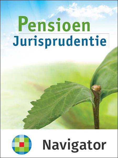 Pensioen Jurisprudentie <p>Pensioen Jurisprudentie biedt u een compleet aanbod van jurisprudentie op zowel civiel-, sociaal- en fiscaalrechtelijk gebied. Deze online uitgave biedt u onder meer handige zoekfunctionaliteit en directe toegang tot de officiële uitspraken.</p>