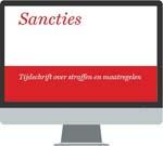Sancties <p>Sancties – tijdschrift over straffen en maatregelen – biedt u reflectie op de praktijk van oplegging en tenuitvoerlegging van sancties. Met de nadruk op strafrechtelijke sancties en meer in het bijzonder de vrijheidsbenemende. Deze online versie van dit tijdschrift wordt zes maal per jaar geactualiseerd.</p>