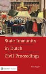 State Immunity in Dutch Civil Proceedings Viewed from the Dutch perspective, this book examines the historical evolution of current Dutch views on State immunity. It examines in depth the relevant provisions of the United Nations Convention.
