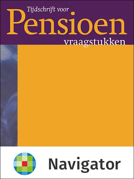 Tijdschrift voor Pensioenvraagstukken Tijdschrift voor Pensioenvraagstukken (TPV) is een uitgave op praktisch-wetenschappelijk niveau. Dit (online) tijdschrift kenmerkt zich door de brede opzet.