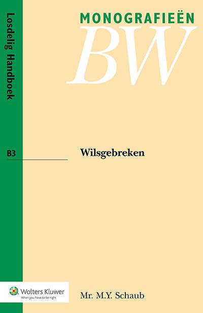 Wilsgebreken Deze monografie gaat over dwaling, bedrog, bedreiging en misbruik van omstandigheden.