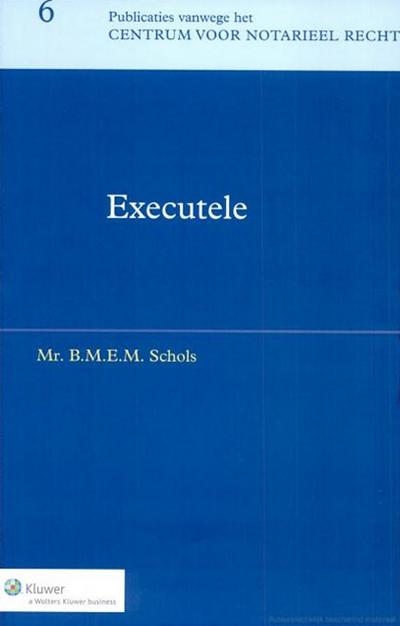 Executele De executeur(-testamentair) staat nog steeds volop in de belangstelling, zowel in theorie als praktijk. Met dit boek slaateen brug tussen het erfrecht en het algemeen vermogensrecht.