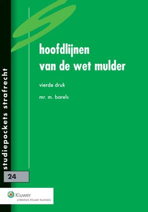Hoofdlijnen van de wet Mulder In deze studiepocket wordt een systematische bespreking gegeven van de Wet administratiefrechtelijke handhaving verkeersvoorschriften. Deze wet is alom bekend als de wet Mulder.