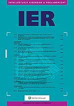 Intellectuele Eigendom en Reclamerecht <span>Dit tijdschrift</span><span>biedt informatie en opiniërende artikelen over auteursrecht, merkenrecht, octrooirecht, modellenrecht, kwekersrecht, handelsnaamrecht, onrechtmatige publicatie, het recht inzake</span><span>misleidende reclame, mededingingsrecht en reclamerecht.</span>