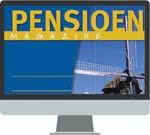 """Pensioen Magazine PensioenMagazine biedt iedereen die beroepsmatig betrokken is bij pensioen- en andere toekomstvoorzieningen zowel praktische als beleidsmatige informatie over de volle breedte. Op die manier draagt deze online (en papieren) uitgave ook haar steentje bij aan het maatschappelijk debat over pensioenaangelegenheden.<br /><br /> <p><em>Vrijblijvend proberen? Vraag eenvoudig een gratis <a href=""""/shop/navigator-tax/proefabonnement"""" target=""""_blank""""><strong>proefabonnement</strong> </a>aan. Het proefabonnement stopt automatisch na een maand.</em></p>"""