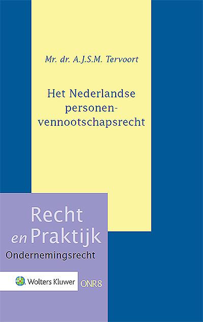 Het Nederlandse personenvennootschapsrecht Onmisbaar als u een toegankelijk naslagwerk wilt op het gebied van van personenvennootschapsrecht! Dit boek geeft u inzicht in de huidige stand van zaken, toegespitst op de rechtspraktijk.